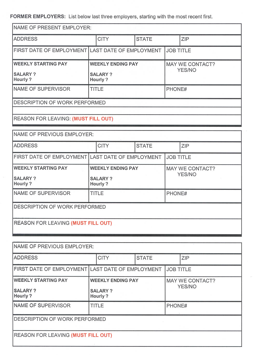 transfield services employment application form