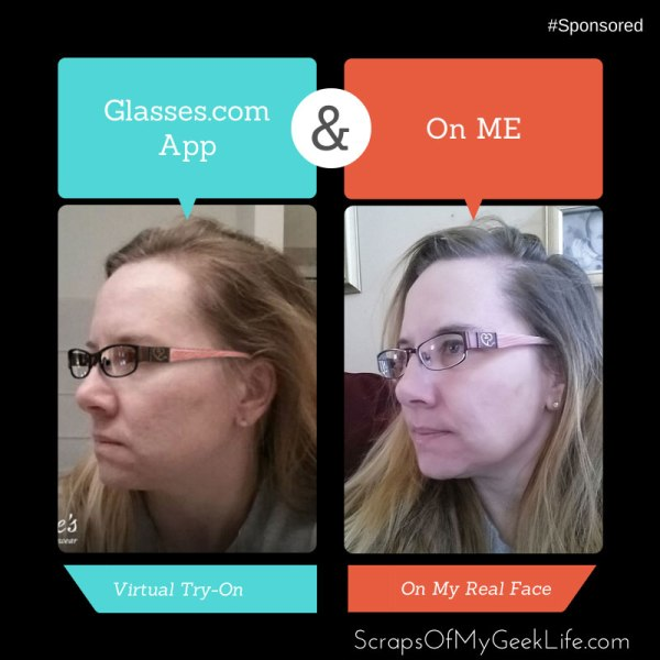 virtual glasses try-on application