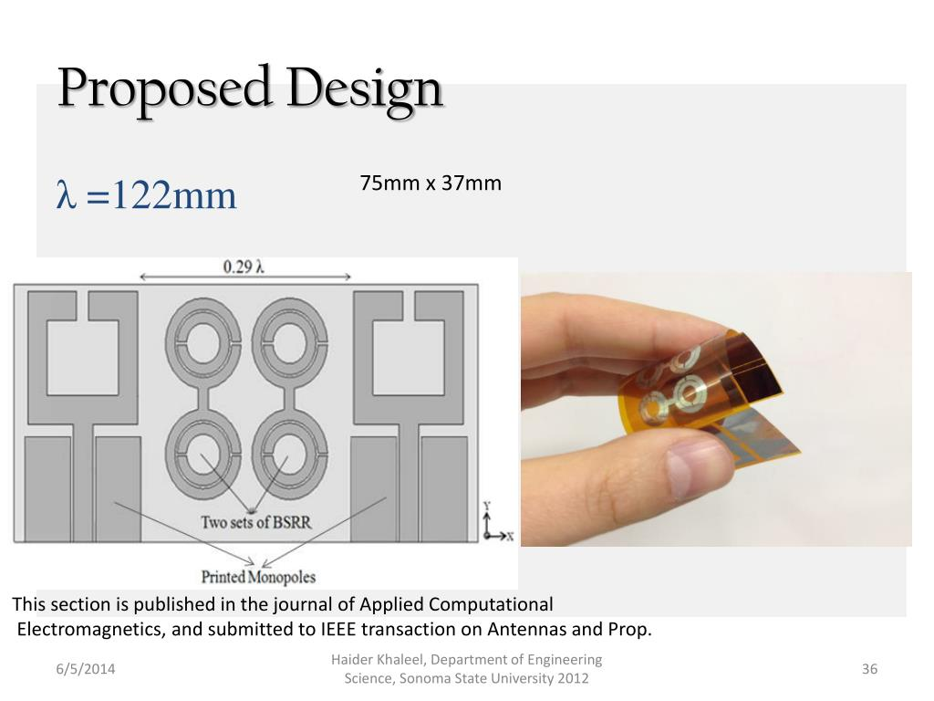 wearable antenna used in telemedicine applications