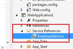 when to use wcf service application