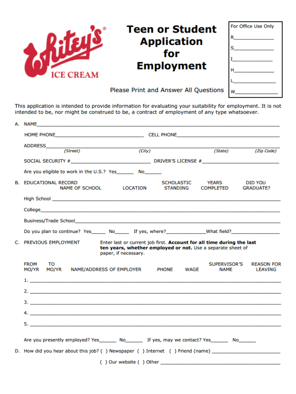 world gym job application form