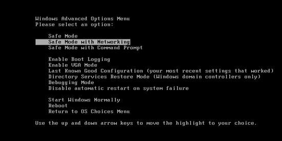 xp mode applications 7 start menu